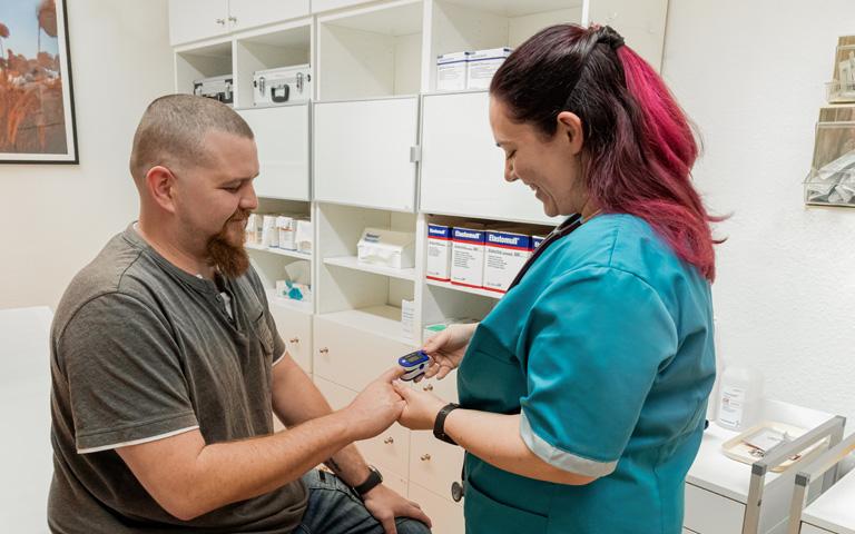 Betreuung chronischer Krankheiten